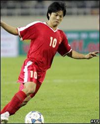 Pham Van Quyen, one of the nation's most popular players, and one of the men arrested for match-fixing