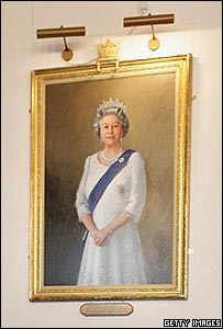 Portrait of the Queen