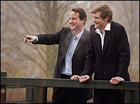 David Cameron and Zac Goldsmith