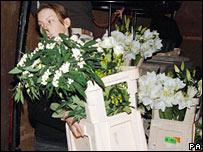 Elton John flowers