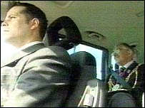 Two mayors in car