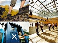Scottish Executive campaign picture