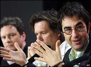 Colin Firth, Kevin Bacon and Atom Egoyan
