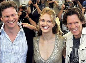Colin Firth, Rachel Blanchard and Kevin Bacon