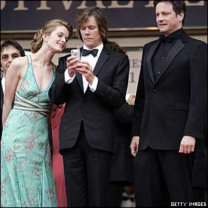 Rachel Blanchard, Kevin Bacon and Colin Firth