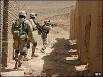 US troops hunting al Qaeda militants