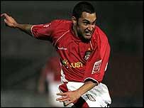 Wrexham top scorer Juan Ugarte