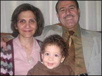 Hanna Massad and his family