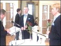 Civil partnership ceremony