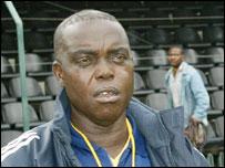 Nigeria coach Godwin Izilien