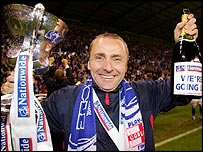 Victorious Carlisle manager Paul Simpson