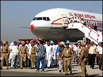 Boeing 777 at Amritsar