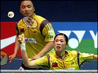 China's Gao Ling and Zhang Jun