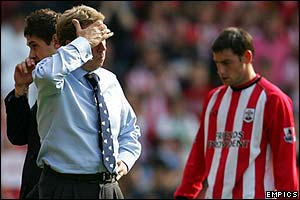 Southampton boss Harry Redknapp