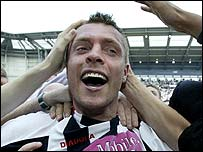 West Brom goalscorer Geoff Horsfield