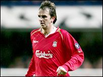 Liverpool midfielder Dietmar Hamann