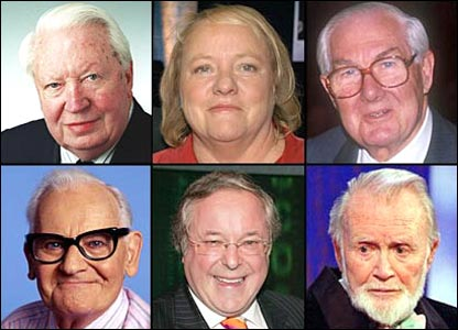 Famous faces who passed away in 2005