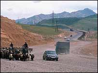 Vehicles on the Silk Road