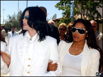 Michael Jackson and sister Janet, AP