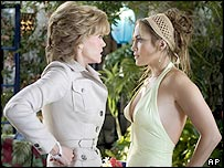 Jane Fonda and Jennifer Lopez in Monster-in-Law