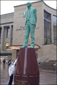 Donald Dewar statue
