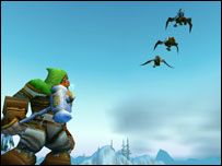 Gryphons help people get around Azeroth, Blizzard
