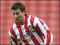 Sunderland striker Michael Bridges