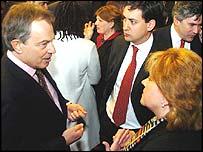 Tony Blair meets new MPs