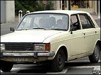 A Paykan car