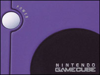 Close-up of Nintendo Gamecube, Nintendo
