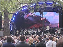 Royal Philharmonic Orchestra in Leicester Square