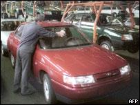 Сборочный конвейер 'АвтоВАЗа'