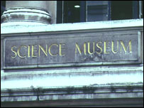 The exterior of the Science Museum