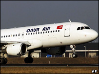 A Turkish airline Onur Air plane (file)