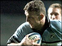 Blues lock Deiniol Jones scored the game's opening try