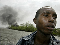 Gabreil Gabreil who lost his six-month-old son to the fire