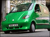 Automóvil a aire comprimido