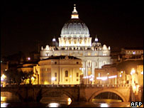 St Peter's Basilica at the Vatican