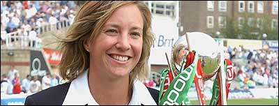 England captain Clare Connor