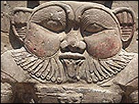 The Egyptian dwarf god Bes