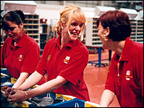 Royal mail staff