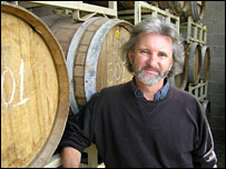 Phil Gregory, wine enthusiast