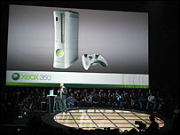 Launch of the Xbox 360