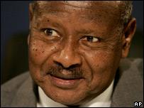 President Yoweri K Museveni