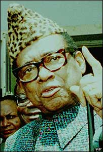 President Mobutu, former president of the Democratic Republic of Congo