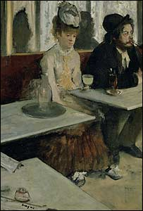 L'Absinthe by Edgar Degas. Courtesy: Tate Britain