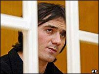 Nur-Pashi Kulayev in court in Vladikavkaz
