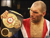 Boxer Nikolay Valuev