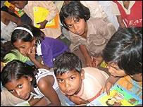 Children attend Pratham session