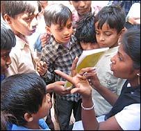 Story making with Satyavati Sharma